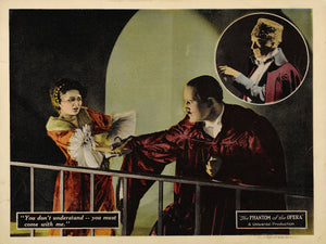 The Phantom of the Opera Lobby Card (2) - 1925