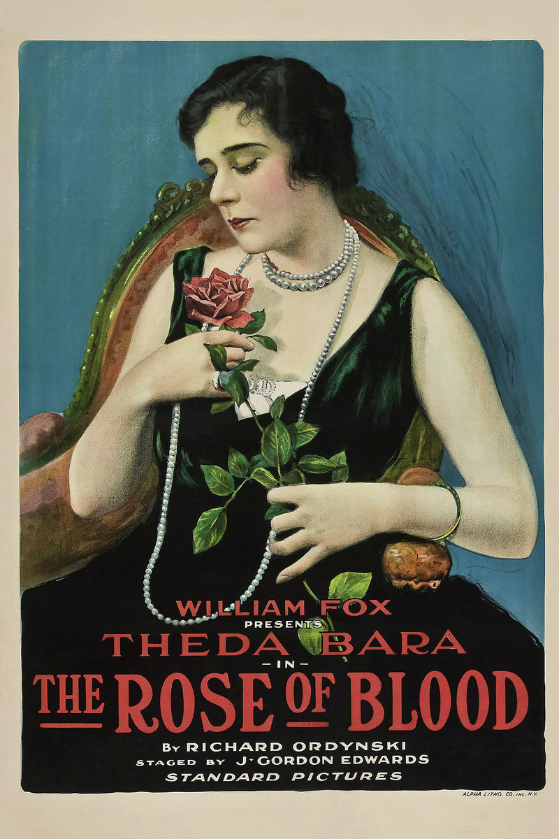 The Rose of Blood, movie poster - 1917