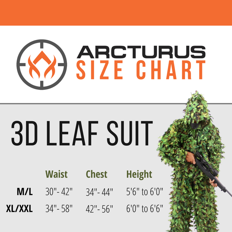 Arcturus 3D Leaf Suit - Dark Woodland