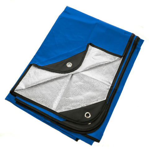 "[CLEARANCE] Arcturus Outdoor Survival Blanket 60"" x 82"" - Blue"