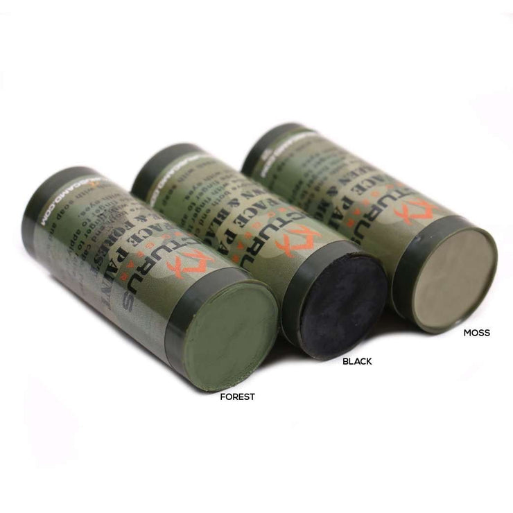 Arcturus Camo Face Paint Sticks - 6 Colors in 3 Double-Sided Tubes