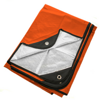 "Arcturus Outdoor Survival Blanket 60"" x 82"" - Orange"