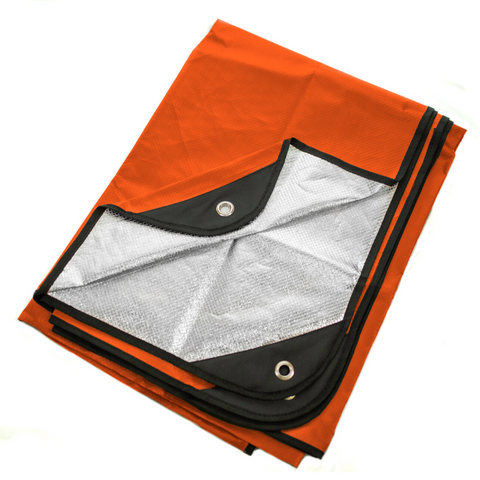 "Arcturus All Weather Outdoor Survival Blanket 60"" x 82"" - Orange"