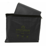 "Arcturus Outdoor Survival Blanket 60"" x 82"" - Black"