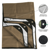 "Arcturus Outdoor Survival Blanket 60"" x 82"" - Coyote Brown"