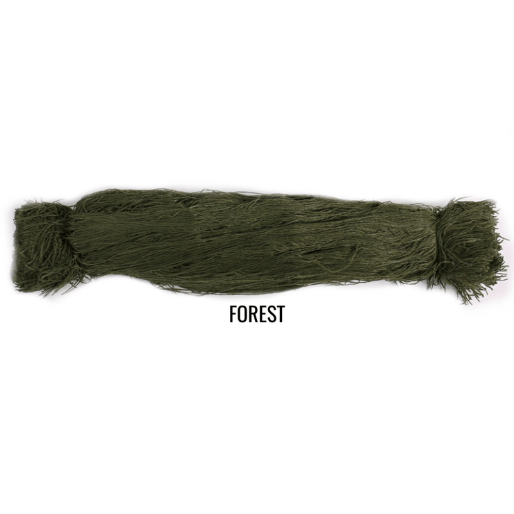 "Arcturus Synthetic Ghillie Thread Bundles - 20"" Length - 9 Colors"
