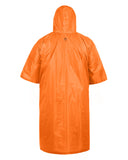 Arcturus Lightweight Waterproof Rain Poncho - Hunter Orange