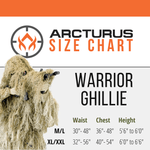 Arcturus Warrior Ghillie Suit - Field Grass