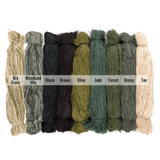 "Arcturus Synthetic Ghillie Thread Bundles - 20"" Length - 9 Colors Available"