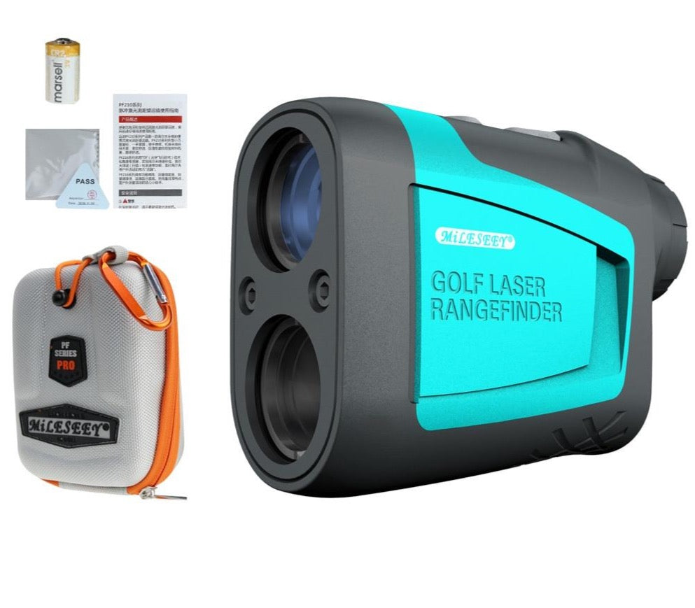 Mileseey PF210 600M Pro Golf Laser Rangefinder WITH CASE AND BATTERY - Top Rated Distance Measurement Device