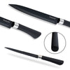 Sunnecko Chef Kitchen Knife Set - 5 Piece Premium Black