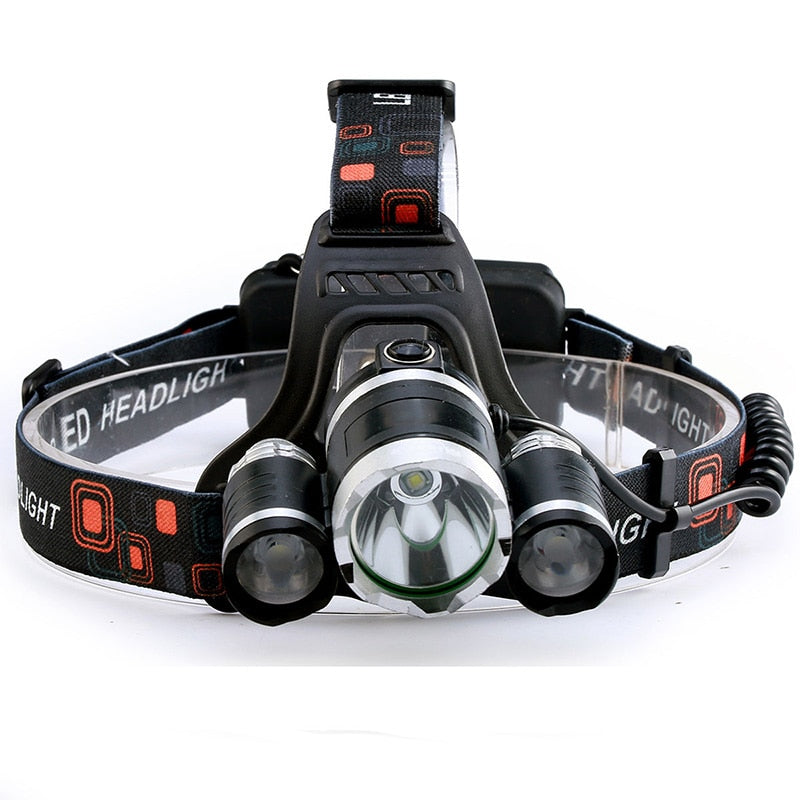 Headlamp Flashlight Rechargeable for Camping / Fishing / Hunting / Walking