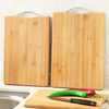 Cutting Board - Bamboo Wood Hangable Strong Chopping Block Board