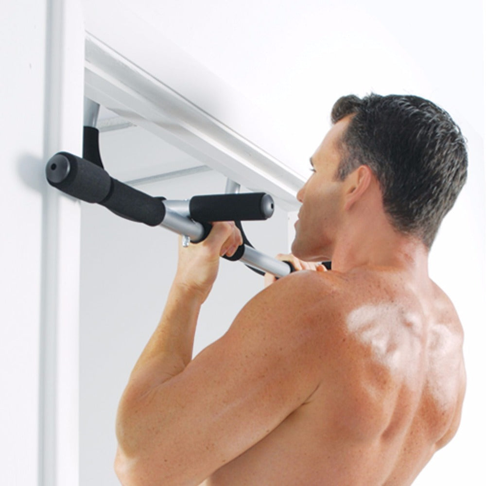 Doorway Pull Up Bar Multi-Grip Heavy Duty Chin Up Bar - Indoor Multipurpose Pull Up Bar For Home Gym Exercise