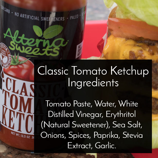 AlternaSweets Low Carb Classic Ketchup - AlternaSweets