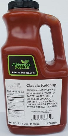 AlternaSweets Low Carb Classic Ketchup