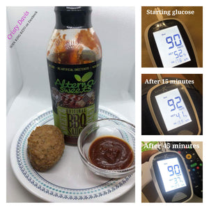 AlternaSweets Low Carb Sweet & Smokey BBQ Sauce - Best Seller!