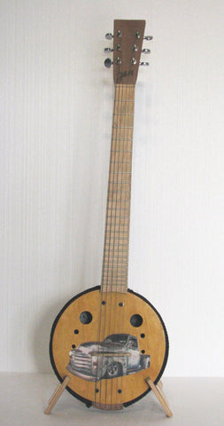 Playable Art Guitar, artist Johnny Macleod