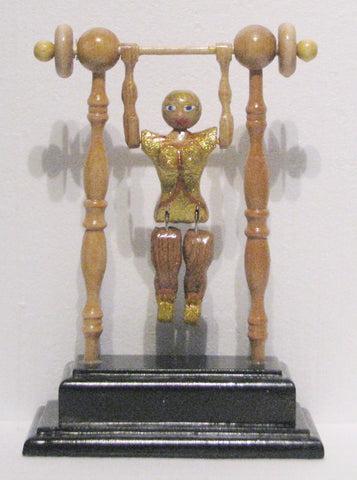 Female Acrobat Toy, artist Charles Hayward