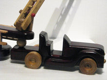 Load image into Gallery viewer, Firetruck Toy close up, artist Charles Hayward
