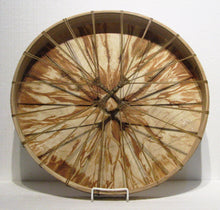 Load image into Gallery viewer, Hemlock Dyed Drum back, artist Michelle Tweed
