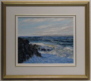 Last Light Framed, Artist Ray Sanford