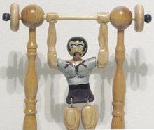 Load image into Gallery viewer, Male Acrobat Toy Close Up, Artist Charles Hayward