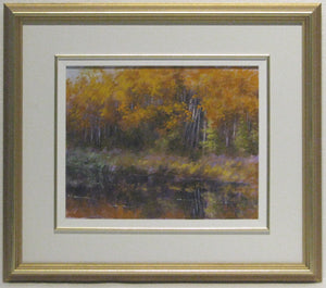 Maple Cove Framed, Artist Ray Sanford