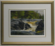 Load image into Gallery viewer, Morning At The Falls Framed, Artist Ray Sanford
