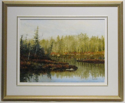 Silver Dawn Framed, Artist Ray Sanford