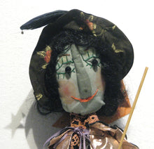 Load image into Gallery viewer, Wanda The Witch Face, artist Louise Chisholm