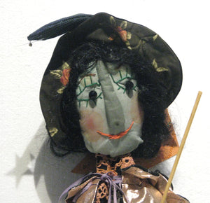 Wanda The Witch Face, artist Louise Chisholm