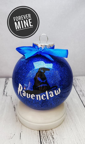 Ravenclaw Christmas Bauble