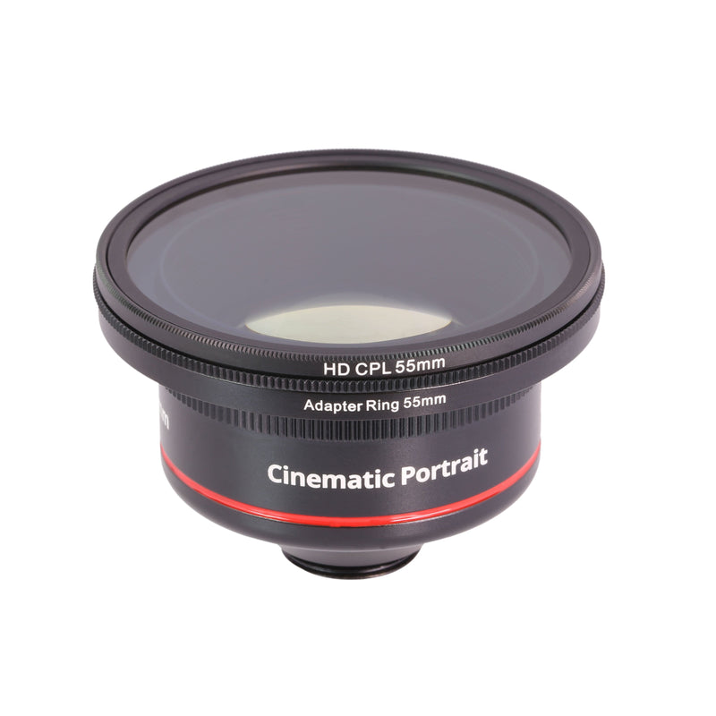 CPL Filter & Lens Hood for Cinematic Series