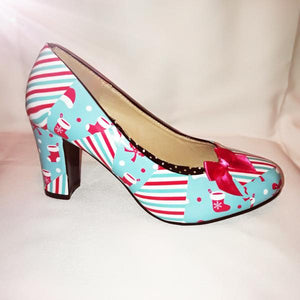 New Design **** Christmas Candy Custom Graphics Shoes Now Trending
