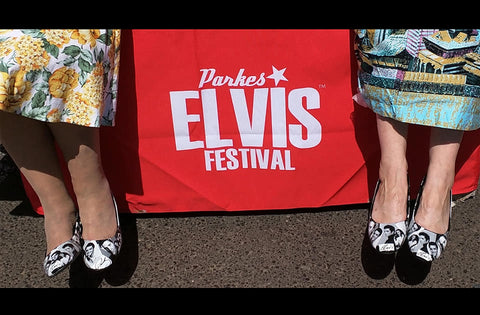 Custom Elvis Shoes