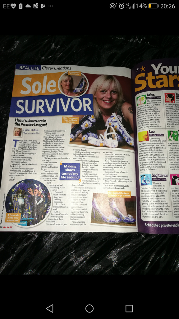 Pick Me Up Sole Survivor article