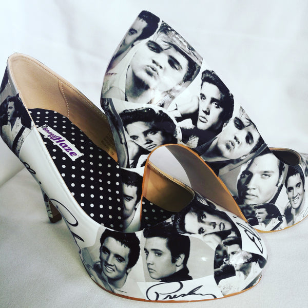 Elvis Presley Ladies Heels