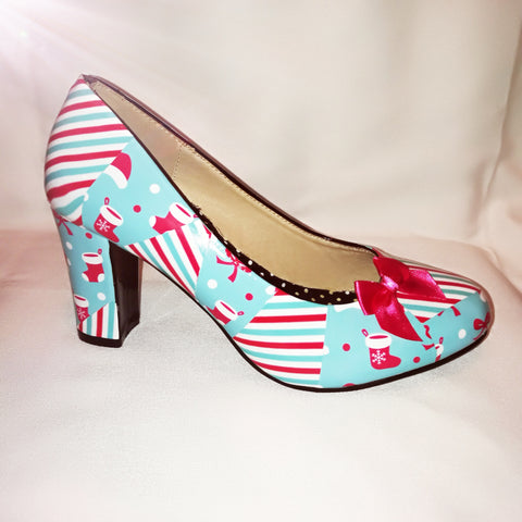 Christmas Candy Heels