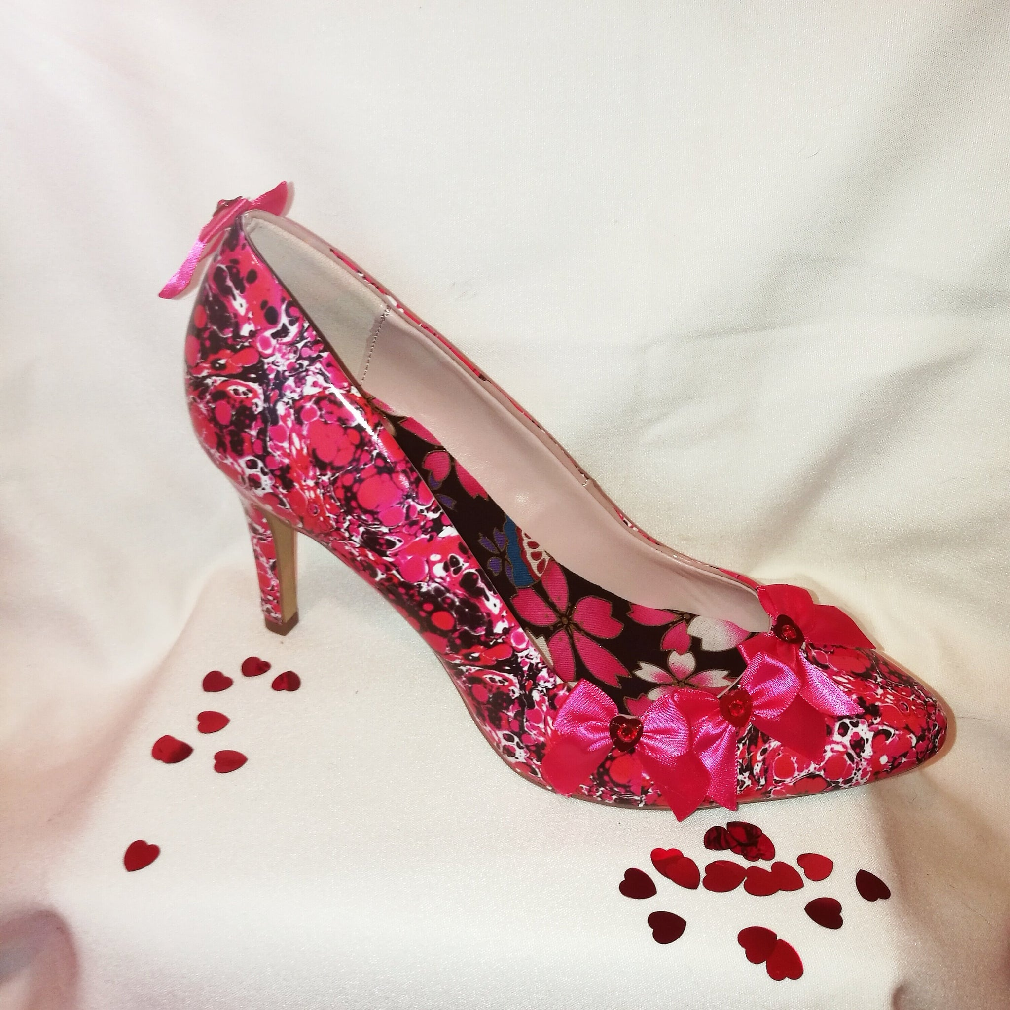 My Bleeding Heart Valentines Heels