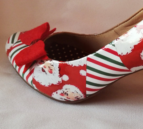 Christmas Wrapped Heels ** Limited Edition**