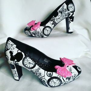 Alice In Wonderland Custom High Heeled Shoes