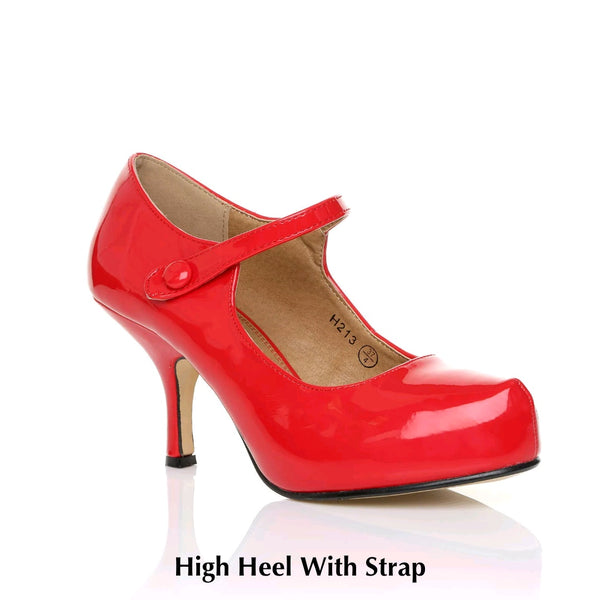 High Heel With Strap