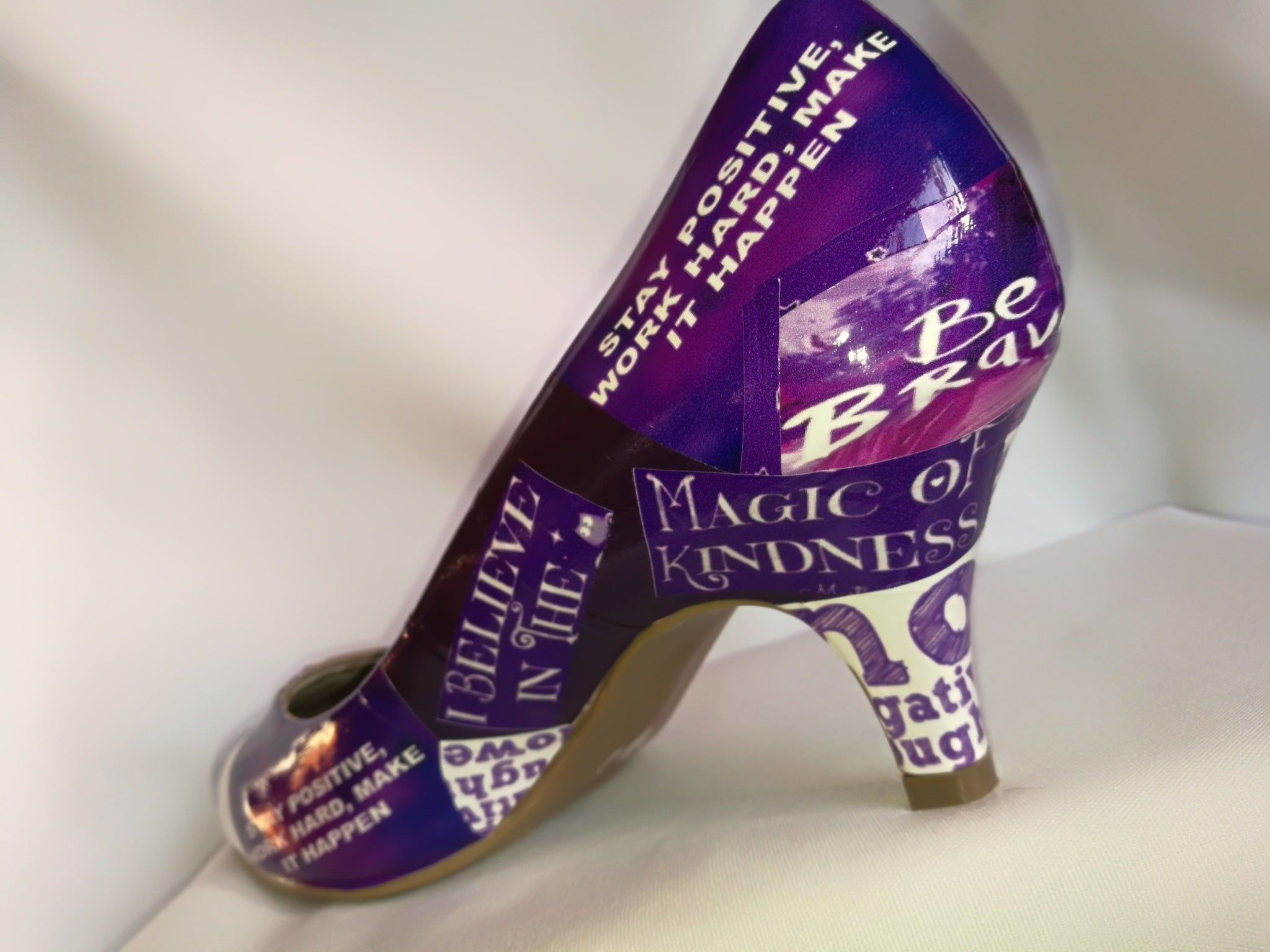 Motivational Quotes Custom Shoes