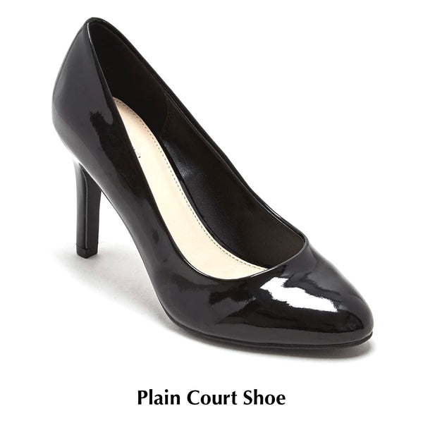 Plain Court Shoes