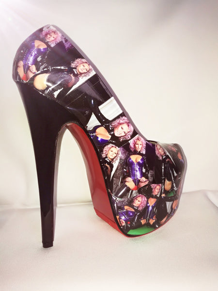 Fetish Pleaser Platform Personalised Heels