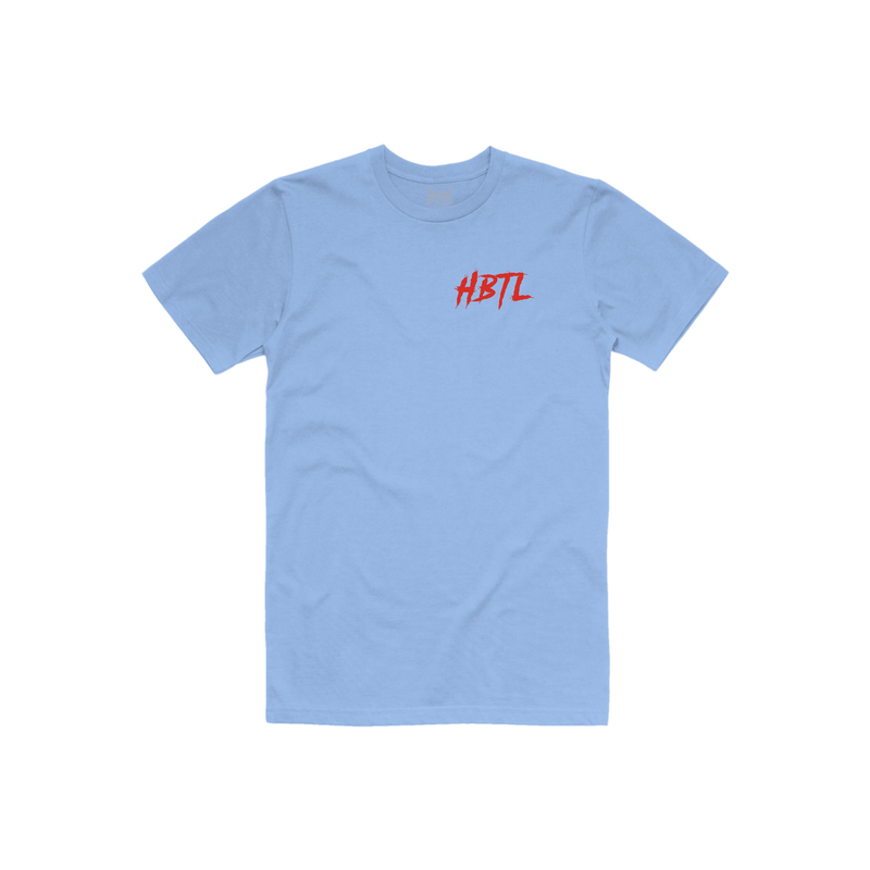 Secrets Tee (Light Blue)