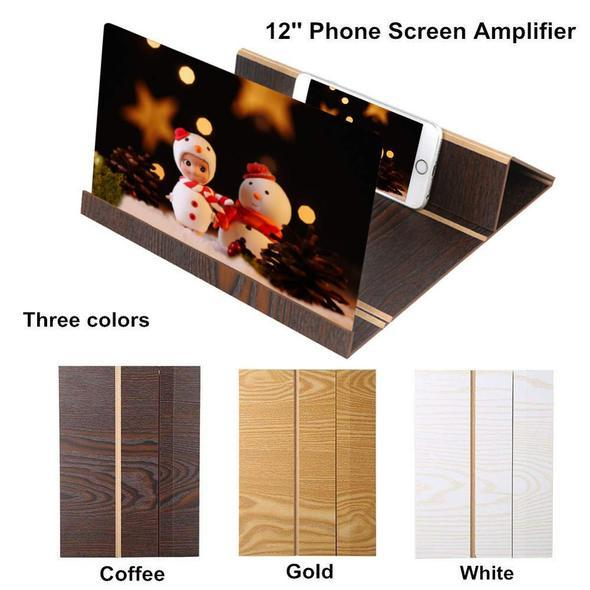 12 inches HD Stereoscopic Mobile Phone Screen Magnifier