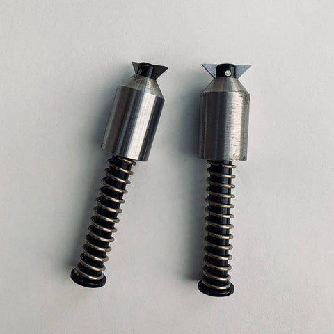 Mini Spring Loaded Two-Hole Pin