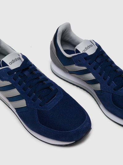 Adidas Zapatillas con Cordones en color Azul Blanco
